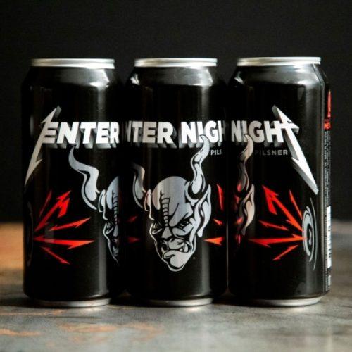 Группа Metallica раскатала о выпуске своего пива Enter Night