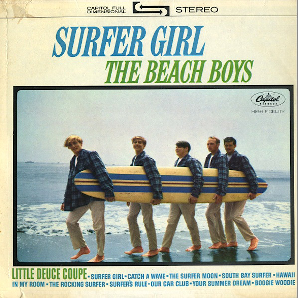 The Beach Boys — Surfer Girl