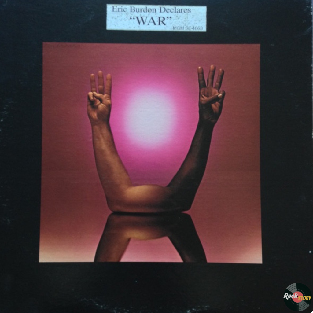 Eric Burdon & War ‎– Eric Burdon Declares «War»
